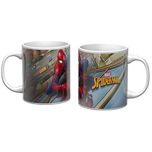 Star Copa in cerámica Mug - Spiderman Marvel - 310 ml. - en Embalaje - 60982