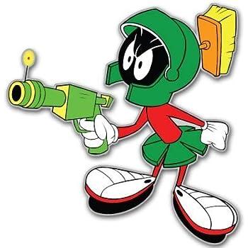 Motorcycles etc Fan Emblems Looney Tunes Marvin the Martian Car Sticker Domed//Multicolor//Chrome Finish Cellphones Trucks Laptops Automotive Emblem Decal Easily Applies to Cars Windows LNI Australia 9672-136