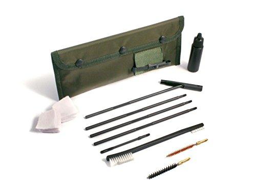 Niebling Kit de Nettoyage, 8 pièces, M4, Nettoyage pour Arme Calibre .40.416/10–10, 6 mm, Vert Olive, Taille Unique