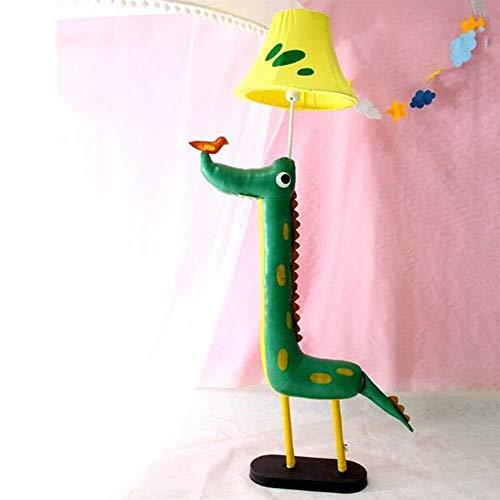 Coolshopy Bodenleuchten Early Education Kindergarten Gaming Zone Cartoon-Tier Dekoration Kinderzimmer Schlafzimmer Schöne vertikale Stehlampen, Birne inklusive, Netzschalter-Knopf Geeignet für Schlafz