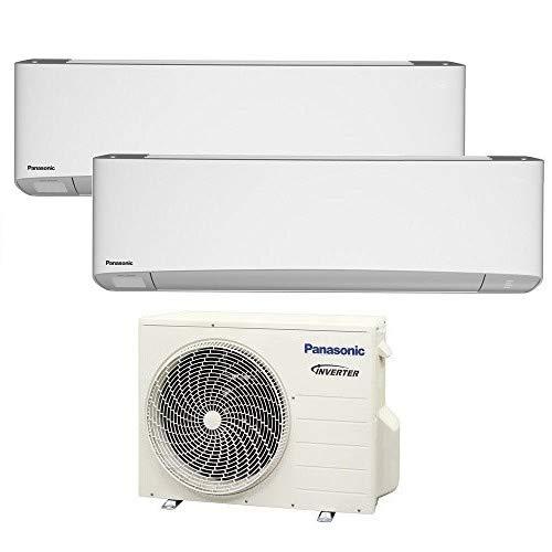 DUO Split raumklimagerät ETHEREA PANASONIC Klimaanlage 2+3,5 KW A+++