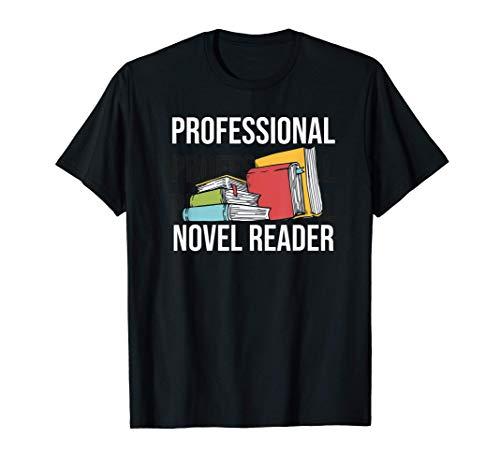 Divertidos regalos para los amantes de los libros de Nover Camiseta