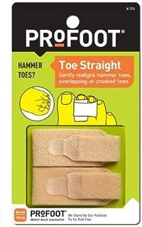 ProFoot Toe Straight Hammertoe Wrap 1 pair (Pack of 3)