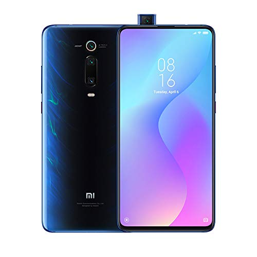 "Xiaomi Mi 9T – Smartphone con pantalla AMOLED full-screen de 6,39"" (Selfie pop-up, triple cámara de 13 + 48 + 8 MP, con NFC, 4000 mAh, Qualcomm SD 730, 6+64 GB,) color azul glaciar [Versión española]"