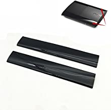 Meijunter Left Right Faceplate Case Shell Cover Surface Cover for PS3 Slim 4000 Console