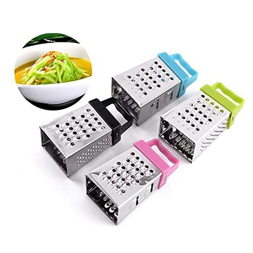 cortadora de verduras Mini 4 lados cepillador cepillador de acero inoxidable cortador...
