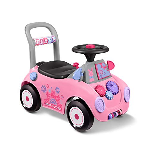 Radio Flyer Creativity Car, Sit to Stand Toddler Ride On Toy, Ages 1-3