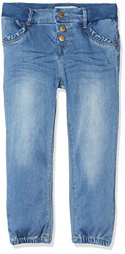 NAME IT Baby-Mädchen NBFRIE DNMTORA 1325 Pant NOOS Jeans, Blau (Light Blue Denim Light Blue Denim), (Herstellergröße: 80)