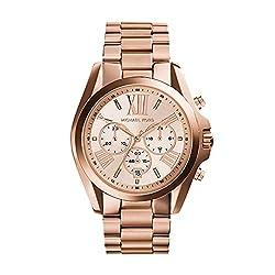 top 10 michael kors watches 2 Michael Kors Roman Number MK5503 Rose Gold Watch