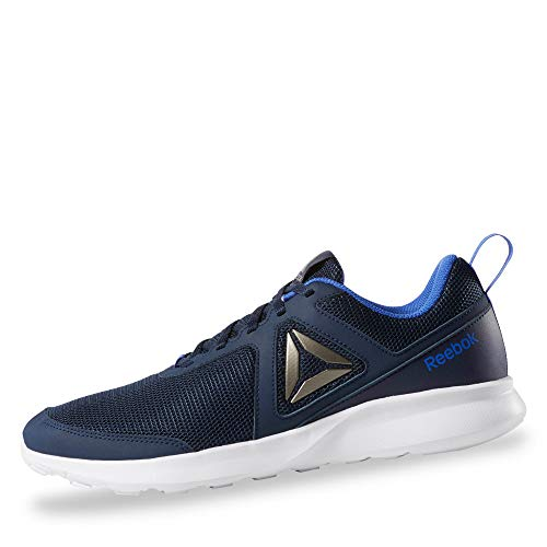 Reebok Quick Motion, Zapatillas de Trail Running para Hombre, Multicolor (Collegiate Navy/Crushed Cobalt/White/Pew 000), 41 EU