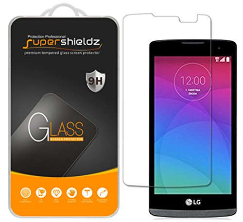 Supershieldz for LG Risio and LG Sunset Tempered Glass Screen Protector, Anti Scratch, Bubble Free