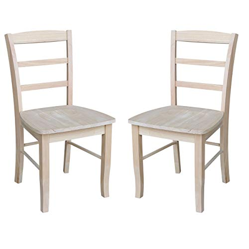 International Concepts Madrid Dining Chair, Height, Unfinished