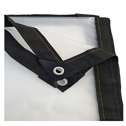 PENGFEI Transparent Bâche De Protection Jardinage Tissu Imperméable Balcon Étanche À La Poussière, 26 Tailles (taille : 3X4m)