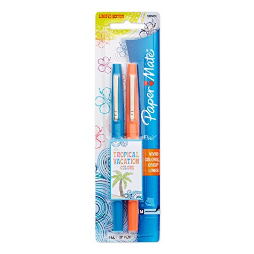Paper Mate Flair Felt Tip Pens, Medium Point, Limited Edition Candy Pop Pack, Pack of 32 (1979425)