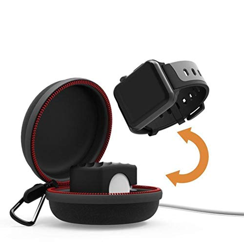 Xixou Portable Protective Charging Case Holder Travel Stand for Watch Charger Arm & Wristband Accessories