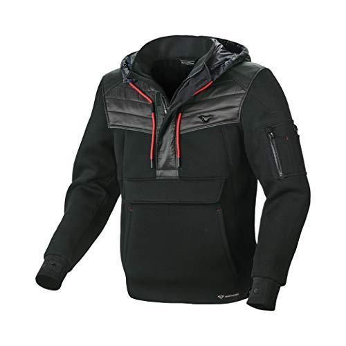 ARON Motorradjacke mit Protektoren XL NERA