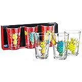 Ritzenhoff & Breker Flirt by R & B Kinder-Trinkglas Monsterchen, 205 ml aus Glas, mit Motivdruck,...