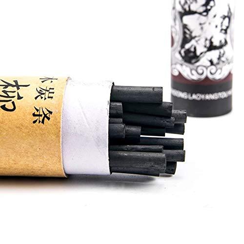 PPX Set de carboncillos,25 Unidades, Lápices de Dibujo del Artista y Bosquejo Material de Dibujo Set (3-5mm)