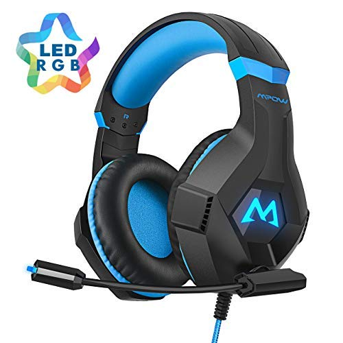 Mpow EG9 Auriculares Gaming PS4 RGB