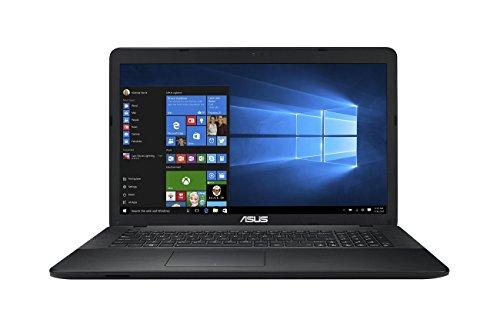 Asus F751LJ-TY359T 43,9 cm (17,3 Zoll) Notebook (Intel Core i3 5010U, 4GB RAM, 500GB HDD, NVIDIA 920M, DVD, Win 10 Home) schwarz