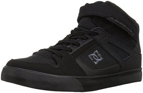 DC boys Pure High-top Ev Skate Shoe, Black/Black/Black, 11.5 Little Kid US