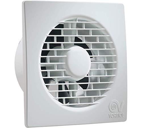Blanco, Techo, Pared, ABS sint/éticos, 33,1 dB, 85 m/³//h, CE, IMQ, GOST, CCC Vortice MFO 100//4 Blanco Ventilador