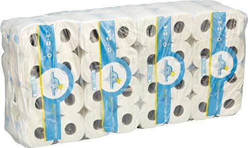 Wepa Toilettenpapier Tissue 3-lagig naturweiß 64 Rollen