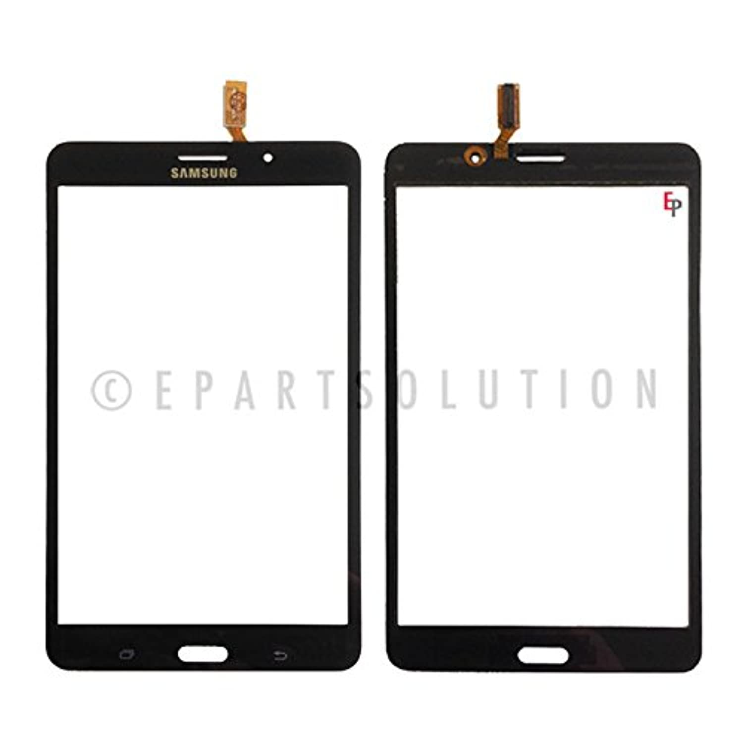 ePartSolution_Black Touch Screen Digitizer Panel Glass Lens for Samsung Galaxy Tab 4 SM-T231 7.0