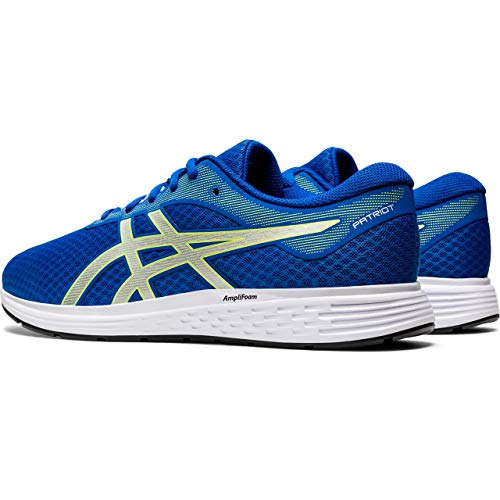 Asics Patriot 11, Road Running Shoe para Hombre - Tuna Blue/Pure Silver - 44 EU