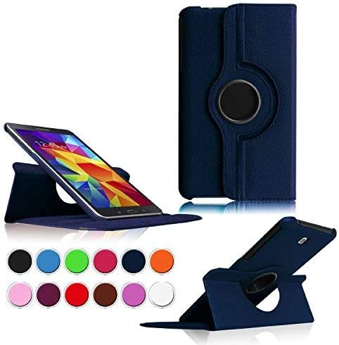 Samsung Galaxy Tab 4 8 0 Tablet Case Flying Horse 360 degree Rotating Stand PU Leather Case product image