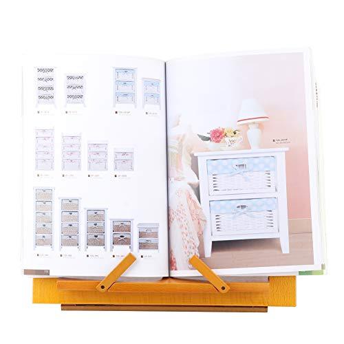 De madera Libro Pararse, 345 X 238 X 225 cm Ojo Cuidando con De madera por Libro Tableta Computadora