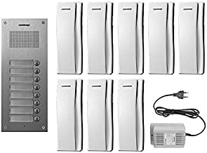 Intercom Commax audio panel with 8 headphone with its included