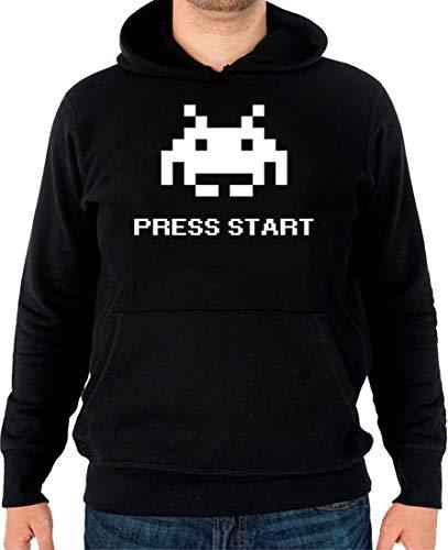 The Fan Tee Sudadera de Hombre Gamer Retro PS NES Juegos Videojuegos Invaders L