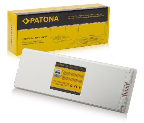 PATONA Batteria per Laptop Notebook Apple MacBook 13  MA254 | MA255 | MA699 | MA700 | MB061 | MB062 | MB402 | MB403 - [ Li-Ion; 5600mAh; Bianco ]