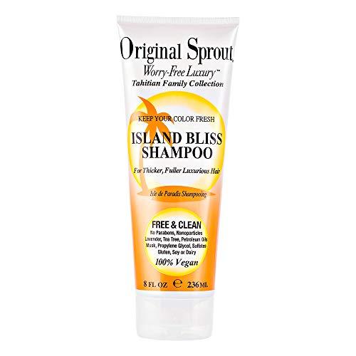 Original Sprout de Tahiti Island Bliss Shampooing Sulfate gratuit 236 ml