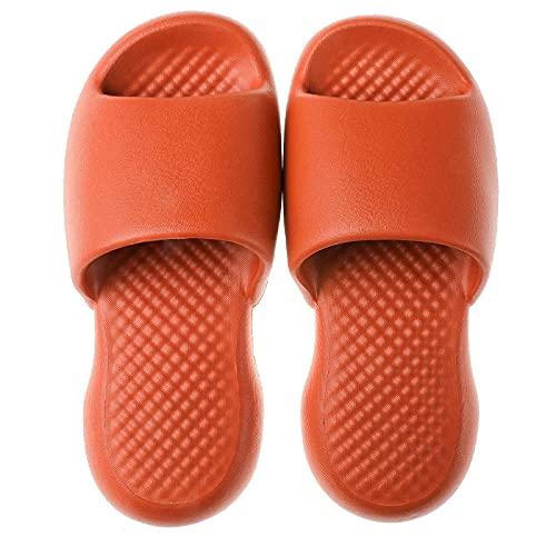 WENHUA Zapatillas de Masaje ultraligeras antifrío Ms. Soft, Orange_42-43