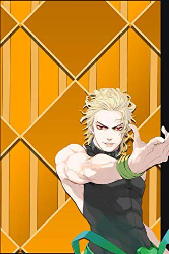 Composition Notebook: Limited Edition - Dio Brando: JoJo's Bizarre Adventure Anime Manga Series Fan's Notepad | Lined Ruled Blank Diary to Write Notes: Daily Writing Journal
