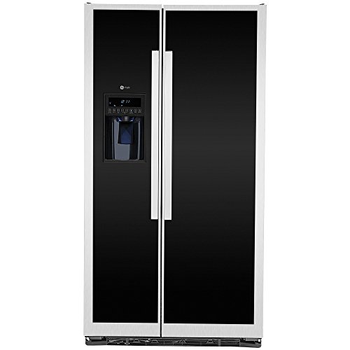 Refrigerador GE PROFILE PSMN3FFBFBN 23P Duplex C/Desp. Vidrio Negro Elite