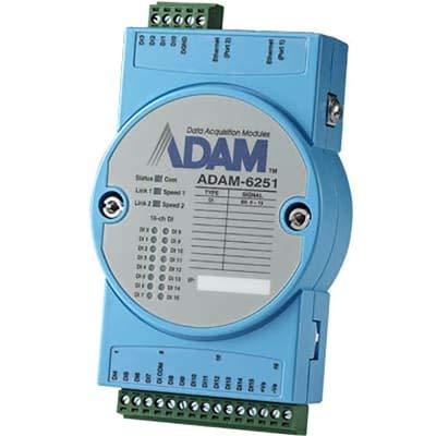 ADVANTECH ADAM-6251-B 16-ch Isolated Digital Input Modbus TCP Module