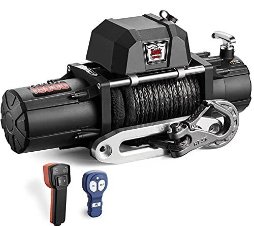 ZEAK 13000 lb. Premium Electric Winch 12V...