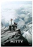 Rzhss La Vida Secreta De Walter Mitty Ben Stiller Película Arte Cartel Impresión Foto Pared Arte Pintura-20X28 Pulgadas Sin Marco