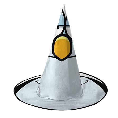 TABUE Halloween Kostüm Hexenhut Cartoon Pinguin In Love Wizard Caps Mit Lichtern Kostümzubehör Für Cosplay Halloween Party