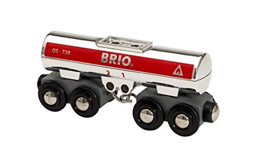 BRIO Bahn 33472 - Tankwagen silber