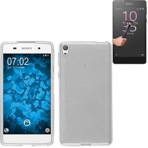 Todobarato24h Funda TPU Lisa Compartible con Sony Xperia XA Ultra Blanca + Protector de Cristal Templado