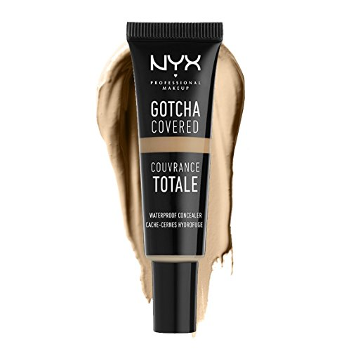 NYX Professional Makeup Gotcha Covered Concealer, No.03 Beige, 0.27 Fluid Ounce