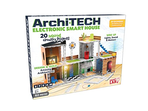 Archi-TECH Electronic Smart House 2020: Design & Build Amazing Architecture with Lights, Sounds & Motion!