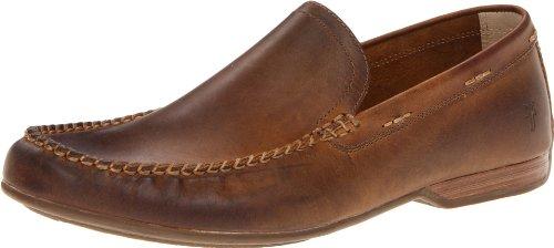 Frye Men's Lewis Venetian Slip-On Loafer, Tan-80257, 10