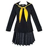 Anime Persona 4 The Animation Cosplay Costumes Rise Kujikawa Dresses Halloween Party (XL) Black