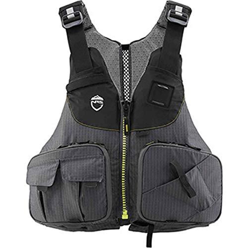 NRS Raku Fishing Lifejacket (PFD)-Charcoal-XS/M