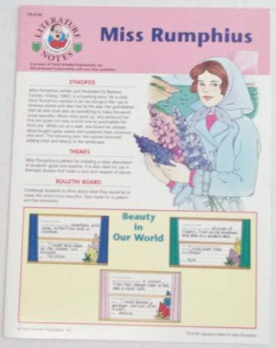Literature Notes, Miss Rumphius (Literature notes)